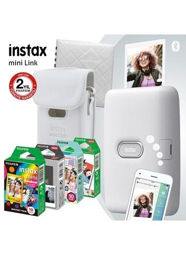 Fujifilm Instax mini Link Beyaz Akıllı Yazıcı ve Mega Hediye Seti Beyaz